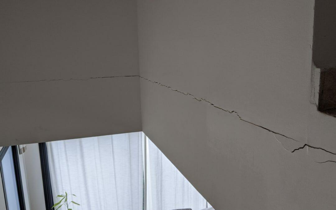 Les fissures dans un logement